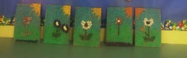 mosaico semillas